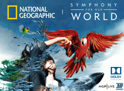 National Geographic Live: Symphony for Our World at Buell Theatre