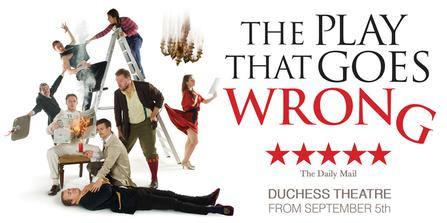The Play That Goes Wrong  at Buell Theatre